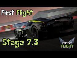 First Flight - Stage 7.3
