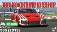 Porsche 935 (2019) Championship