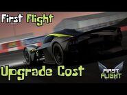First Flight - Aston Martin Valkyrie Upgrade Cost