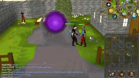 Runescape, Glitch with Reverence. With Lemon Acid.