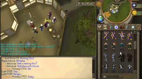 Getting 99 Cooking in runescape. 2011