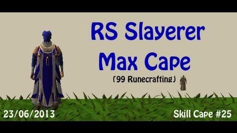 RS Slayerer gets the Max Cape!