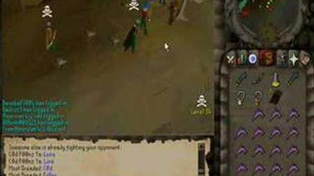 Runescape_F2P_Pking_-_Most_Dreaded_PK_Vid_5_(Range_2h_Pure)