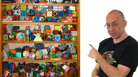 Math meets the world's largest magnet Rubik's cube