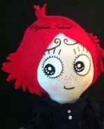 Ruby Gloom doll