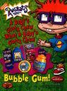 Rugrats Bubble Gum Advertisement Nickelodeon Magazine June July 2002
