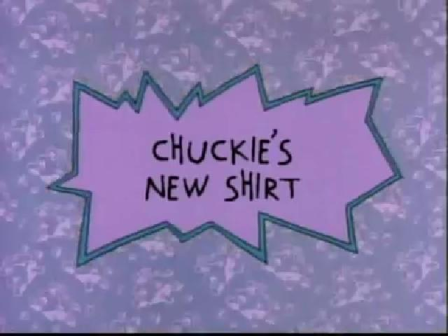 Chuckie's New Shirt