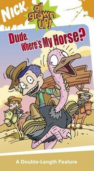 Dude, Where's My Horse VHS.jpg
