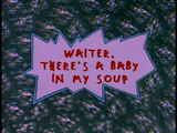 Waiter, There's a Baby in My Soup