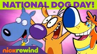 National_Dog_Day!_🐶_Celebrate_Your_Pup_w_Ren_&_Stimpy,_CatDog,_&_Rugrats_NickRewind
