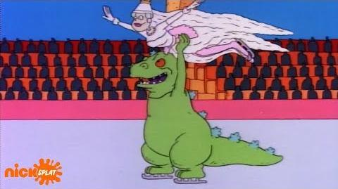 Reptar_Sings_🎶_What's_A_Dinosaur_To_Do,_When_There's_Kids_On_The_Ice!_🎶_NickSplat