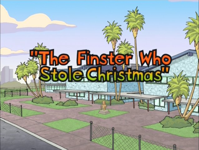 The Finster Who Stole Christmas (Episode)