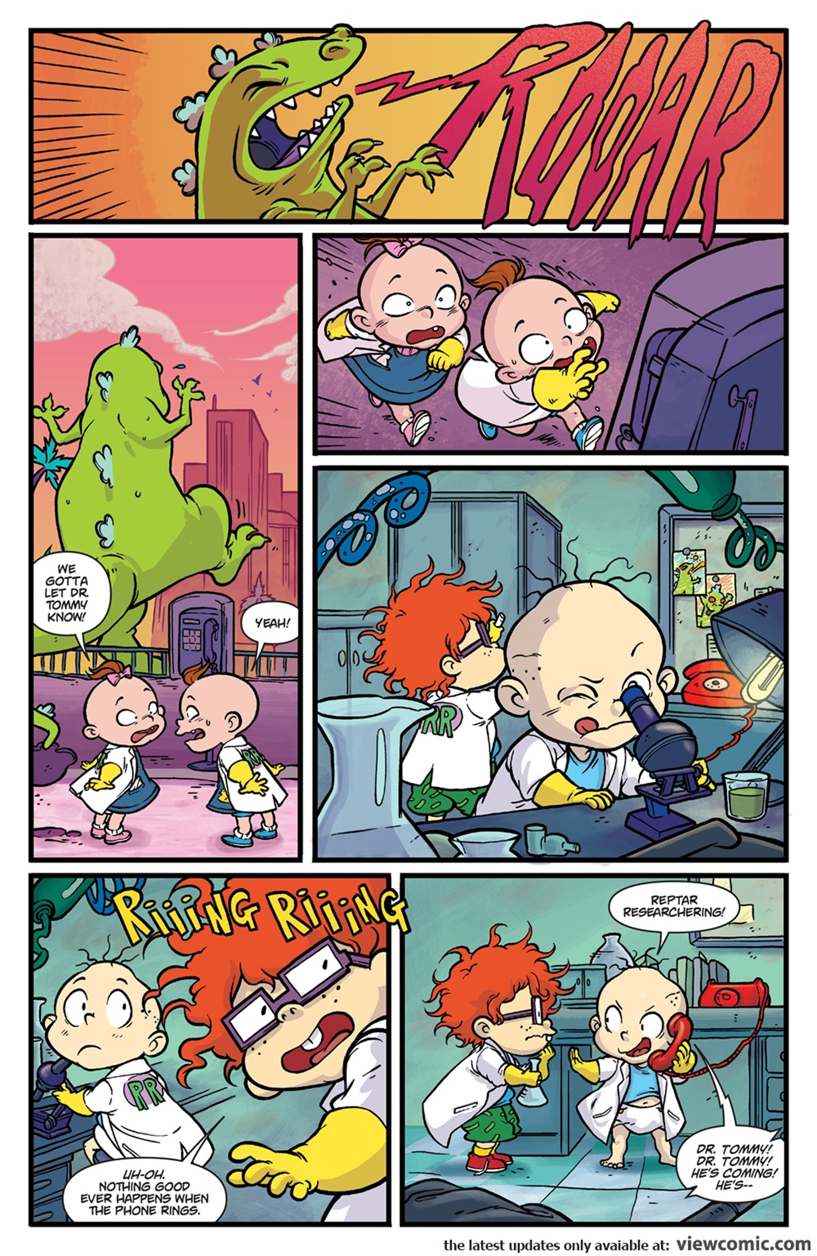 Rugrats R is for Reptar 2018 Boom Comic 36.jpg