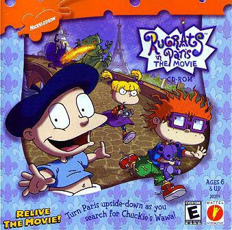 Angelica Pickles/Gallery/Rugrats In Paris: The Movie (CD-Rom)