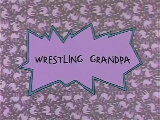 Wrestling Grandpa