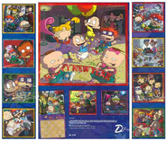 Back Rugrats 2001 Calendar