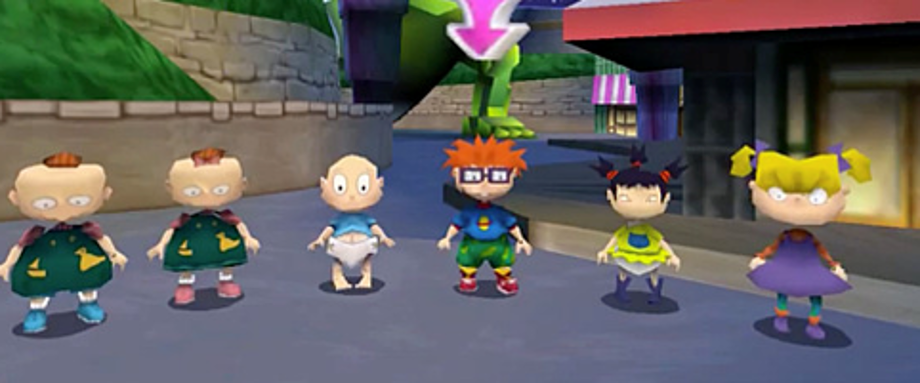 Angelica Pickles/Gallery/Rugrats in Paris: The Movie (video game)