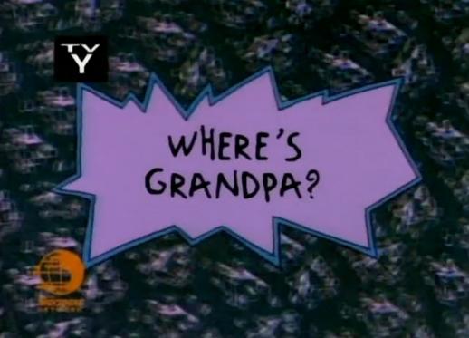 Where's Grandpa?