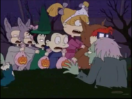 Curse of the Werewuff - Rugrats 645