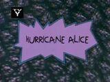 Hurricane Alice