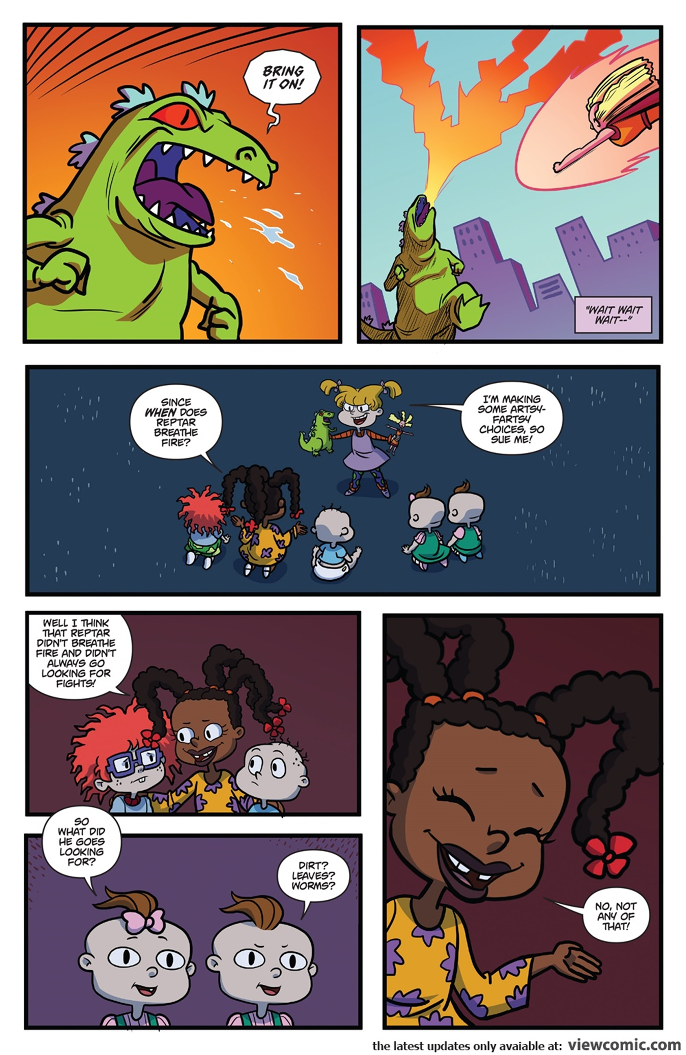 Rugrats R is for Reptar 2018 Boom Comic 25.jpg