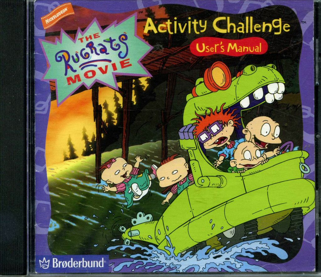 Reptar Wagon/Gallery/The Rugrats Movie Activity Challenge
