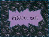 Preschool Daze (Episode)