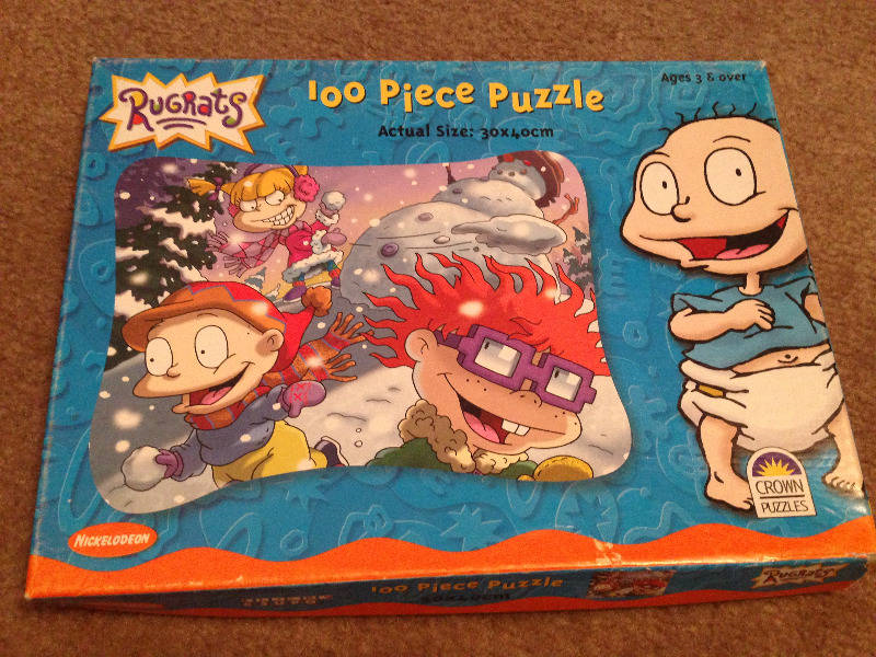 100 Piece Puzzle (Tommy, Chuckie & Angelica)