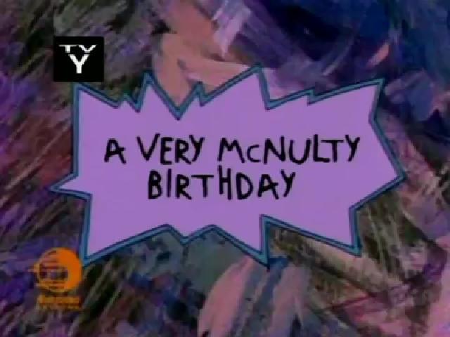 A Very McNulty Birthday