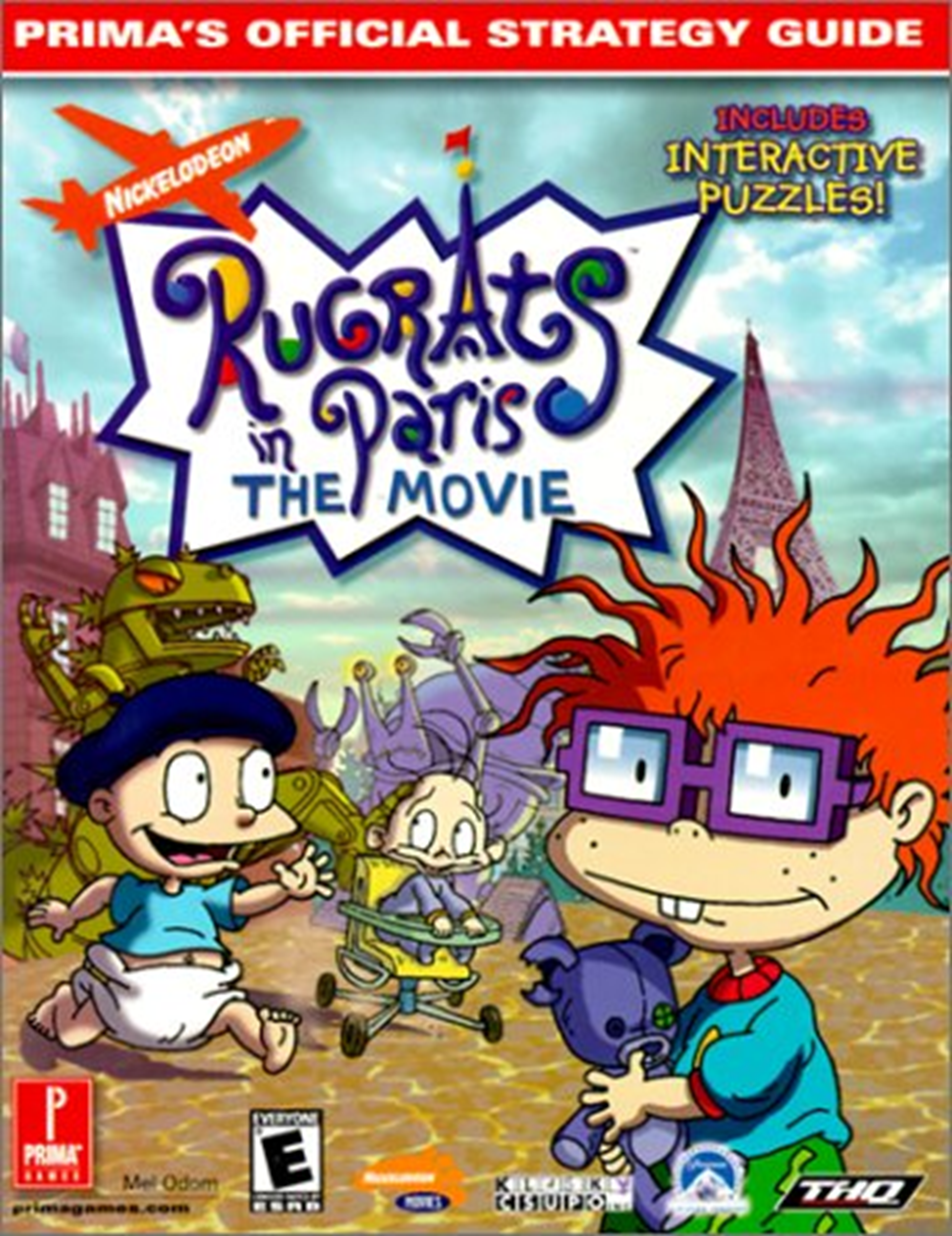 Chuckie Finster/Gallery/Rugrats in Paris: Prima's Official Strategy Guide (Book)