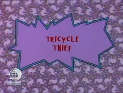 Tricycle Thief Title Card.png