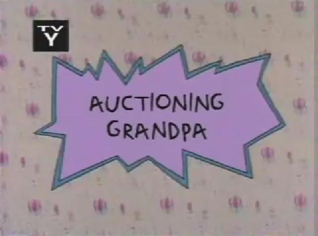 Auctioning Grandpa