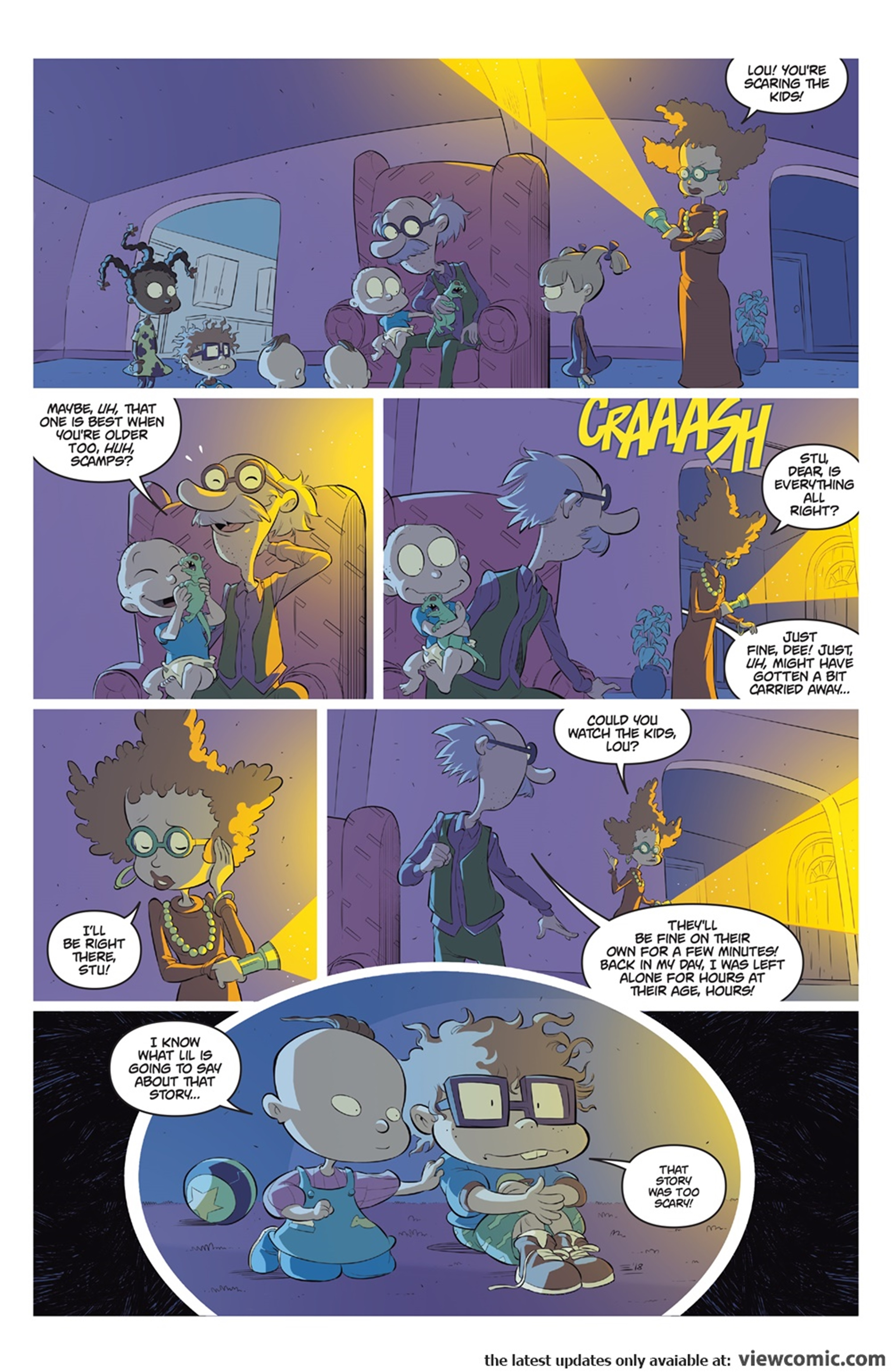 Rugrats R is for Reptar 2018 Boom Comic 09.jpg