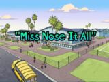 Miss Nose it All