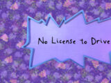 No License to Drive