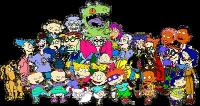 Rugrats cast.png