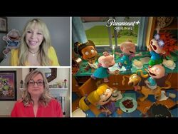 Iconic 'Rugrats' voice actors talk new Paramount+ revival series