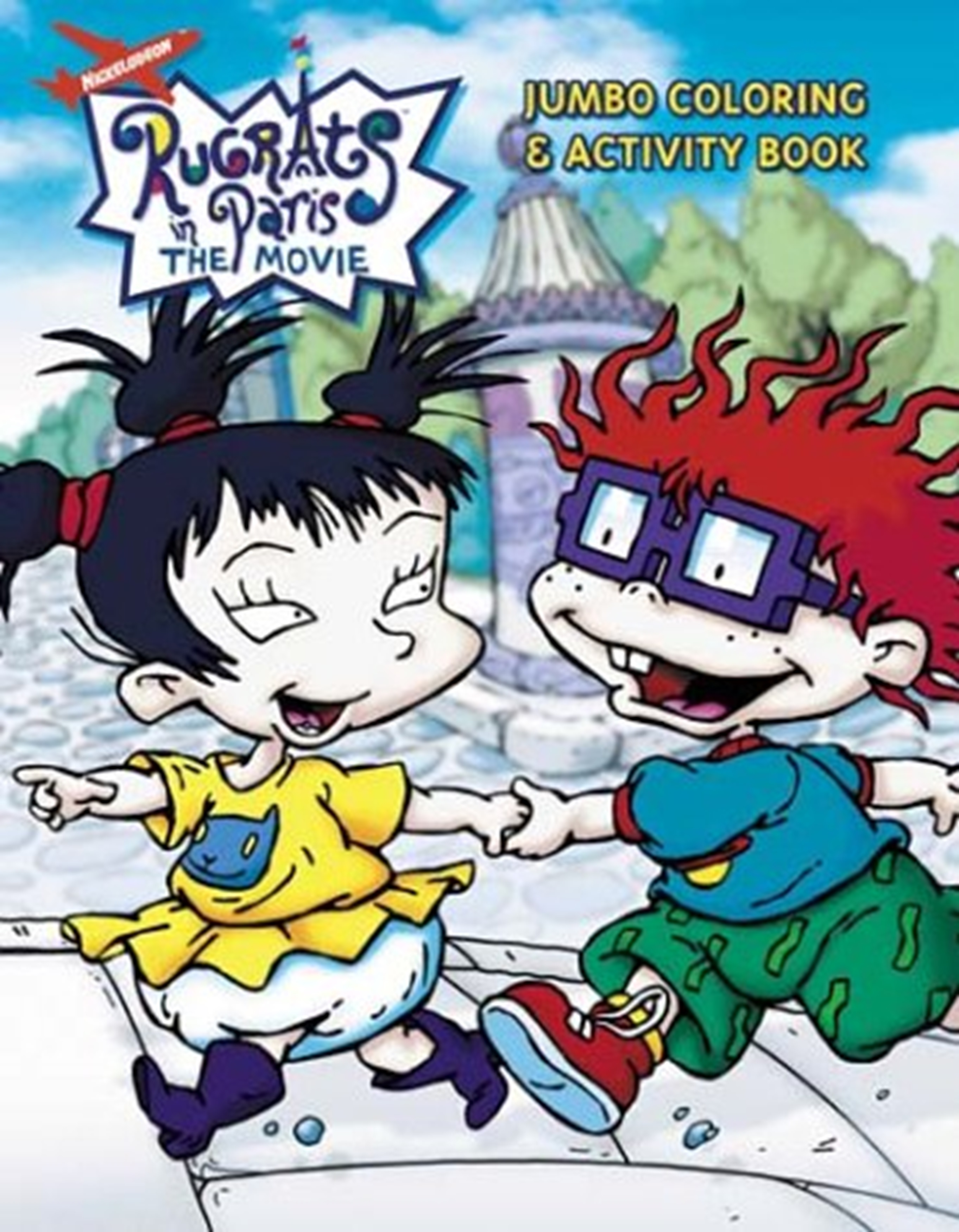 Chuckie Finster/Gallery/Rugrats in Paris: Jumbo Coloring & Activity Book