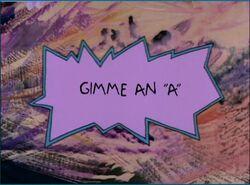 Rugrats Gimme An A.JPG