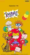 Rugrats 2020 Nickelodeon Labor Day Poster