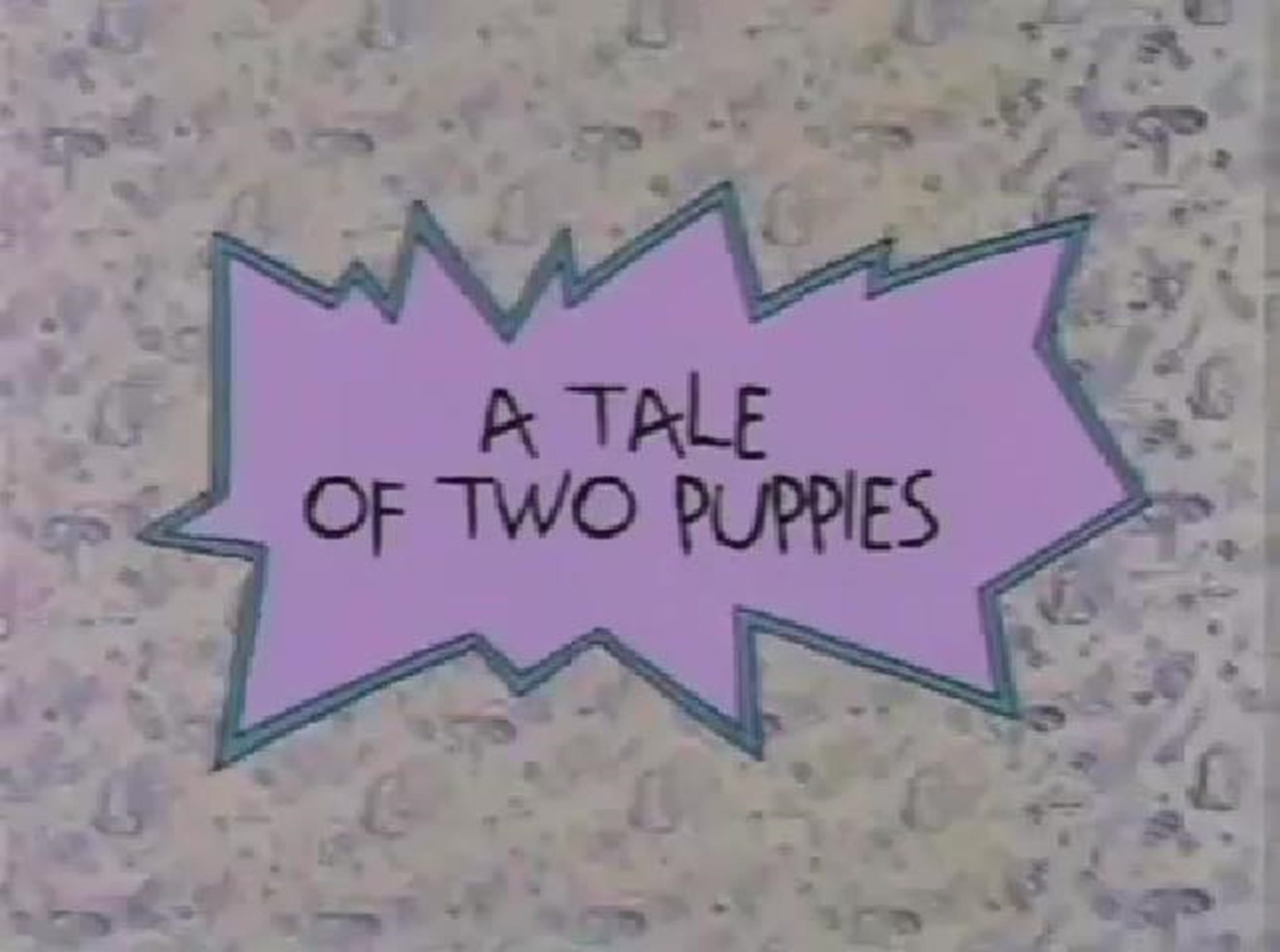 A Tale of Two Puppies
