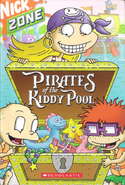 Rugrats Pirates of the Kiddy Pool book