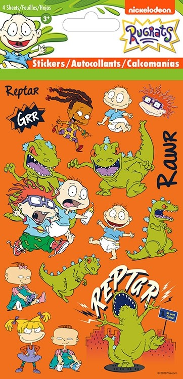 Angelica Pickles/Gallery/Rugrats Reptar Stickers