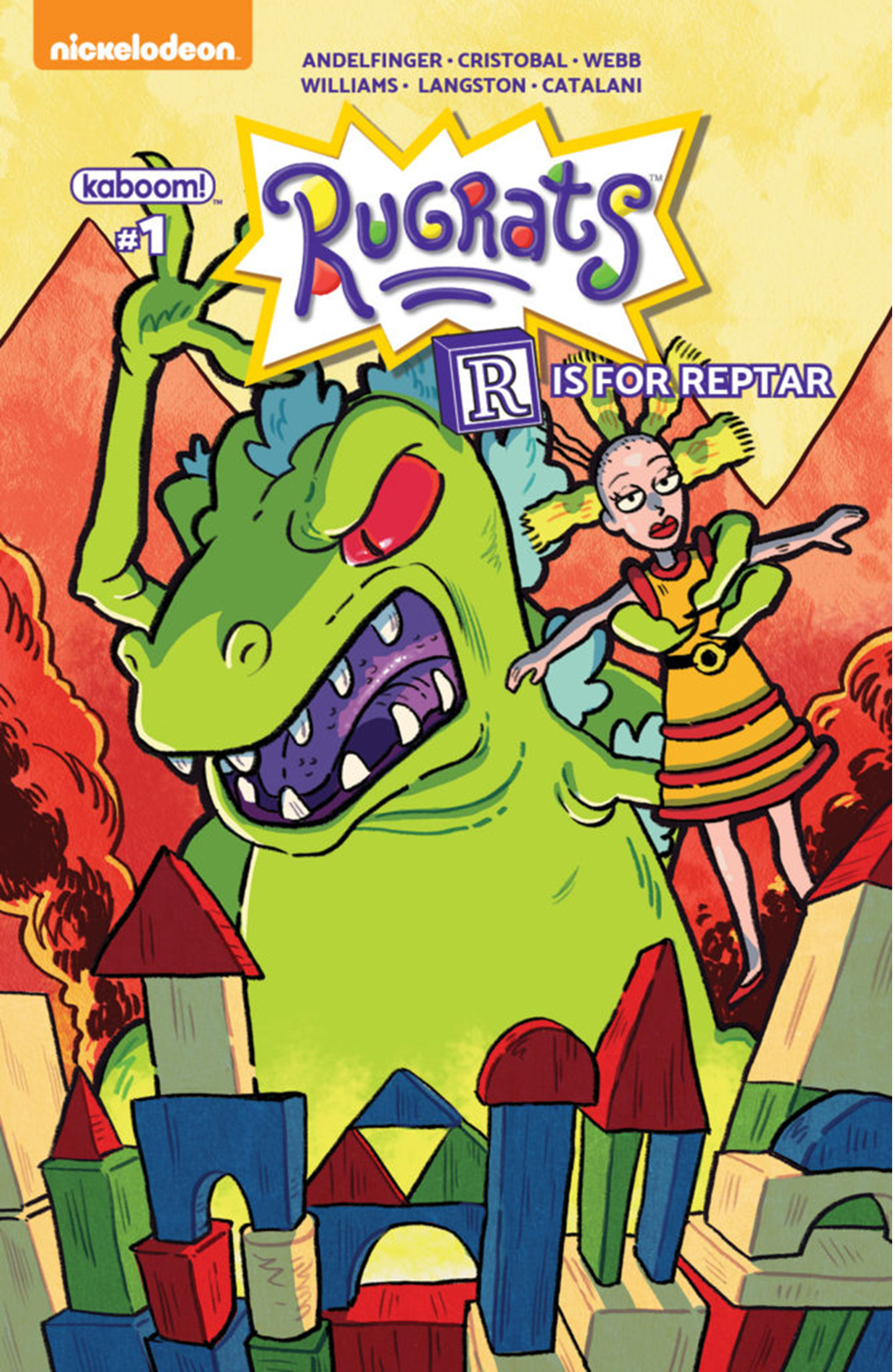Rugrats: R Is For Reptar 2018 Special: Number 1