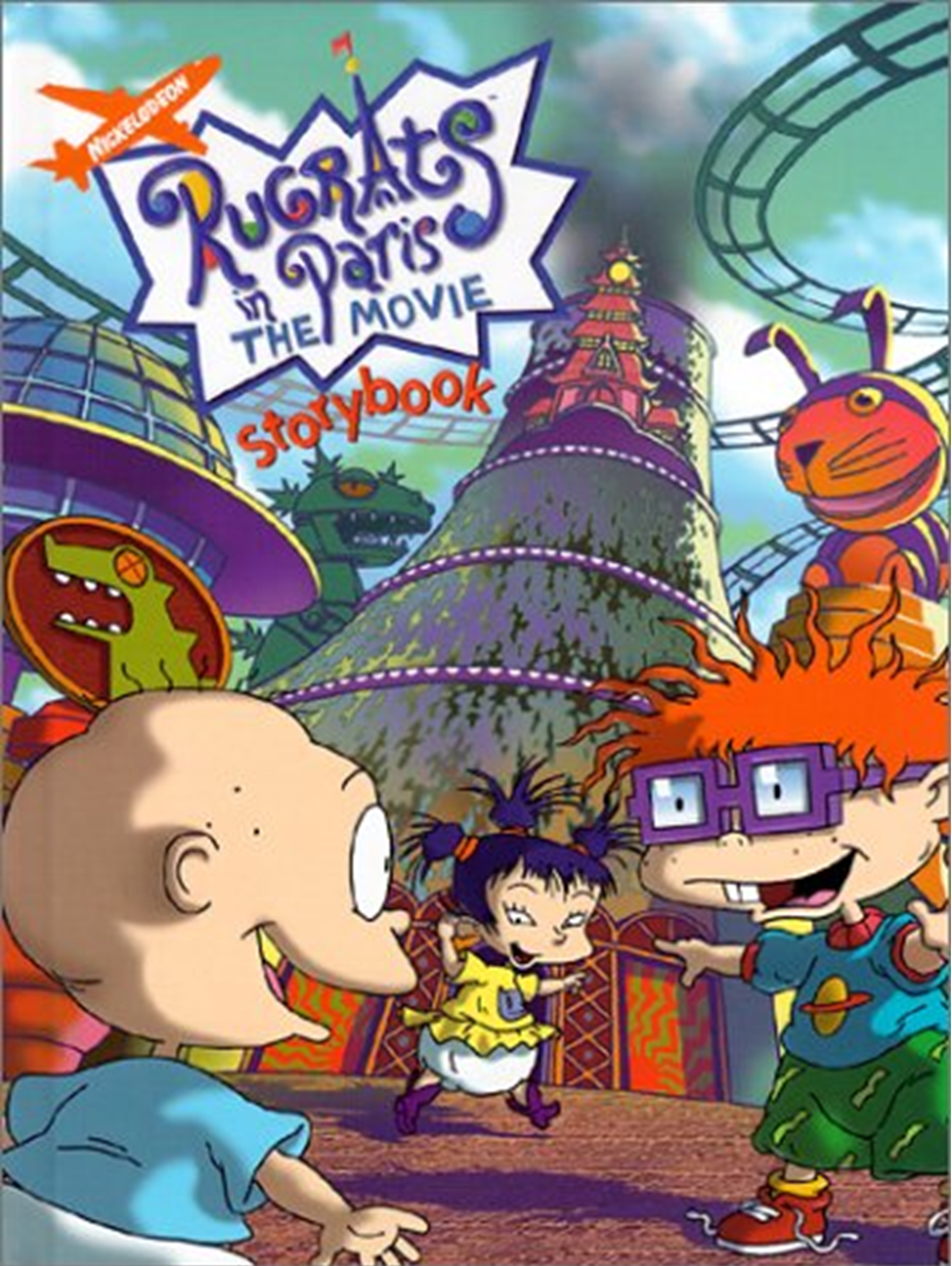 Chuckie Finster/Gallery/Rugrats in Paris: The Movie Storybook
