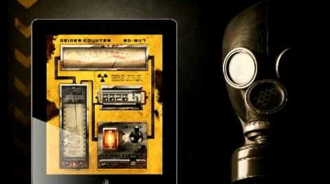 Geiger counter sound effect - high radiation