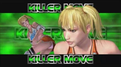 Rumble Roses XX - Becky Killer Move (Cyclone-Rana)