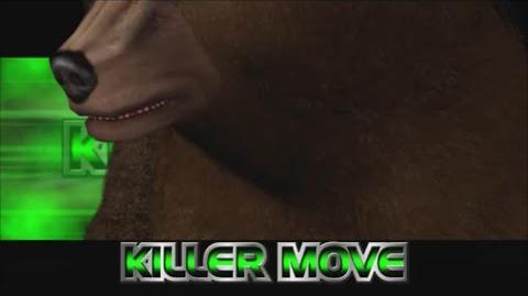 Rumble Roses XX - Non-Non Killer Move (Bear Hug)