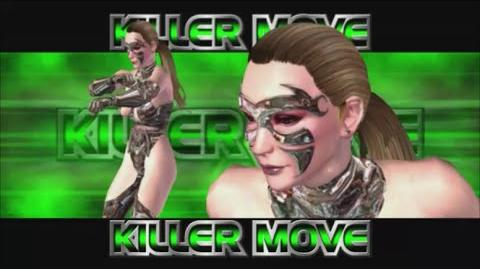 Rumble Roses XX - Lady X Substance Killer Move (Power Of The Punch)