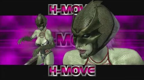 Rumble Roses XX - Evil Rose H-Move (Vampiress)